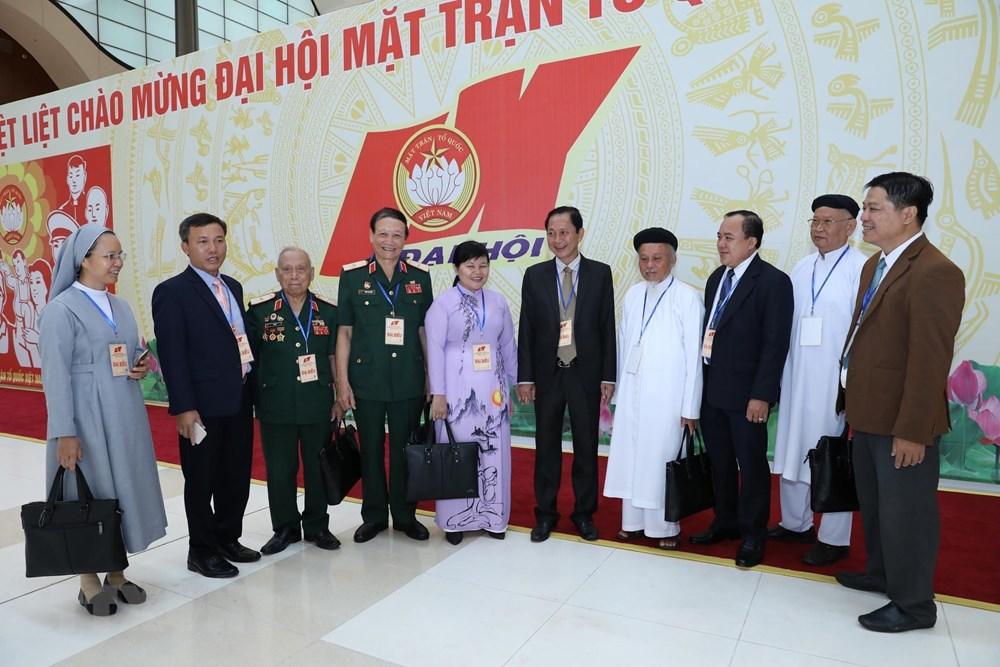 [ẢNH] Đại biểu tham dự Đại hội đại biểu toàn quốc MTTQ Việt Nam lần thứ IX - 3