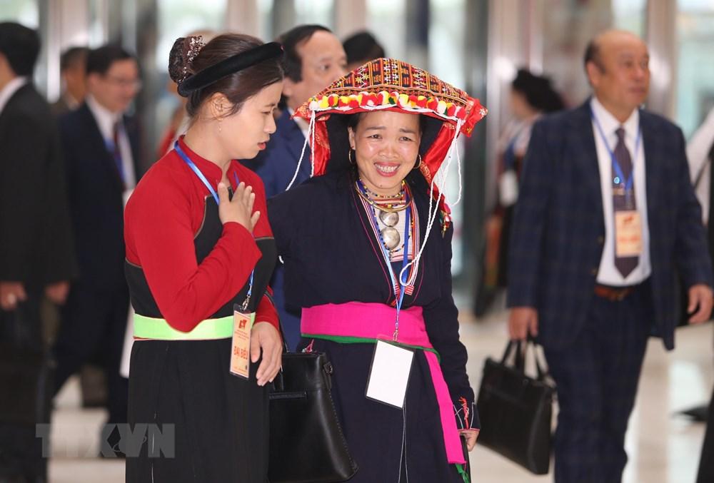 [ẢNH] Đại biểu tham dự Đại hội đại biểu toàn quốc MTTQ Việt Nam lần thứ IX - 5