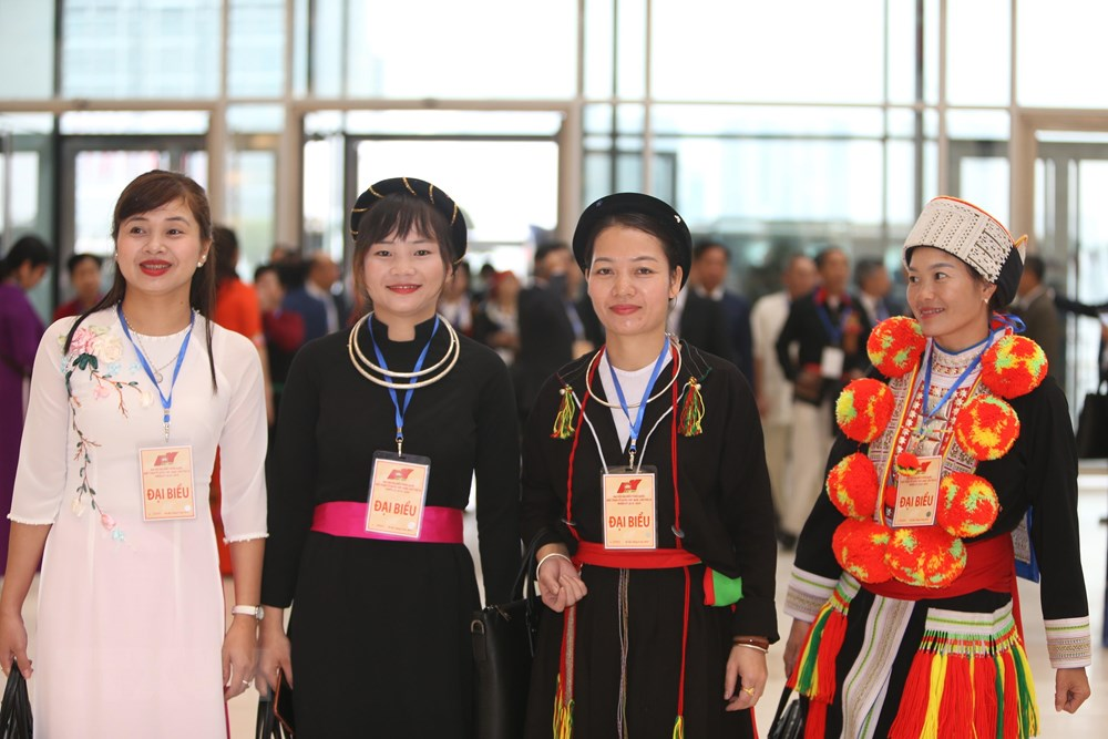 [ẢNH] Đại biểu tham dự Đại hội đại biểu toàn quốc MTTQ Việt Nam lần thứ IX - 6
