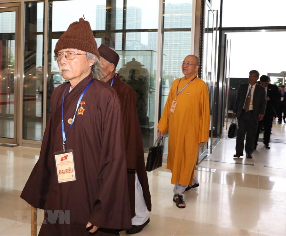[ẢNH] Đại biểu tham dự Đại hội đại biểu toàn quốc MTTQ Việt Nam lần thứ IX - 7