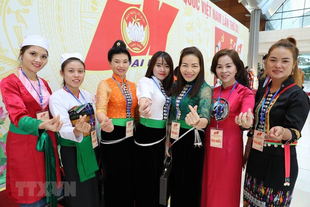 [ẢNH] Đại biểu tham dự Đại hội đại biểu toàn quốc MTTQ Việt Nam lần thứ IX - 8