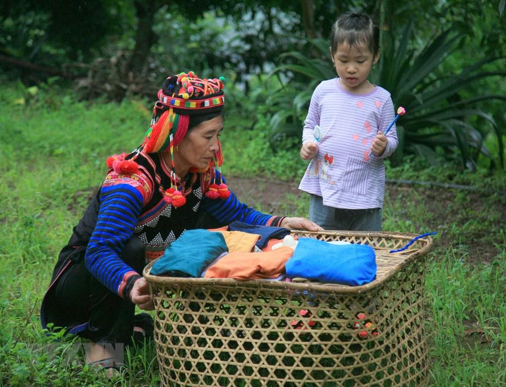 [Photo] Vui Tet Mua mua cung cong dong dan toc Ha Nhi o Dien Bien hinh anh 6