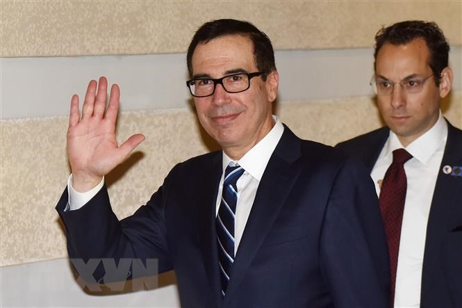 Bộ trưởng Tài chính Mỹ để ngỏ khả năng sớm tới Trung Quốc