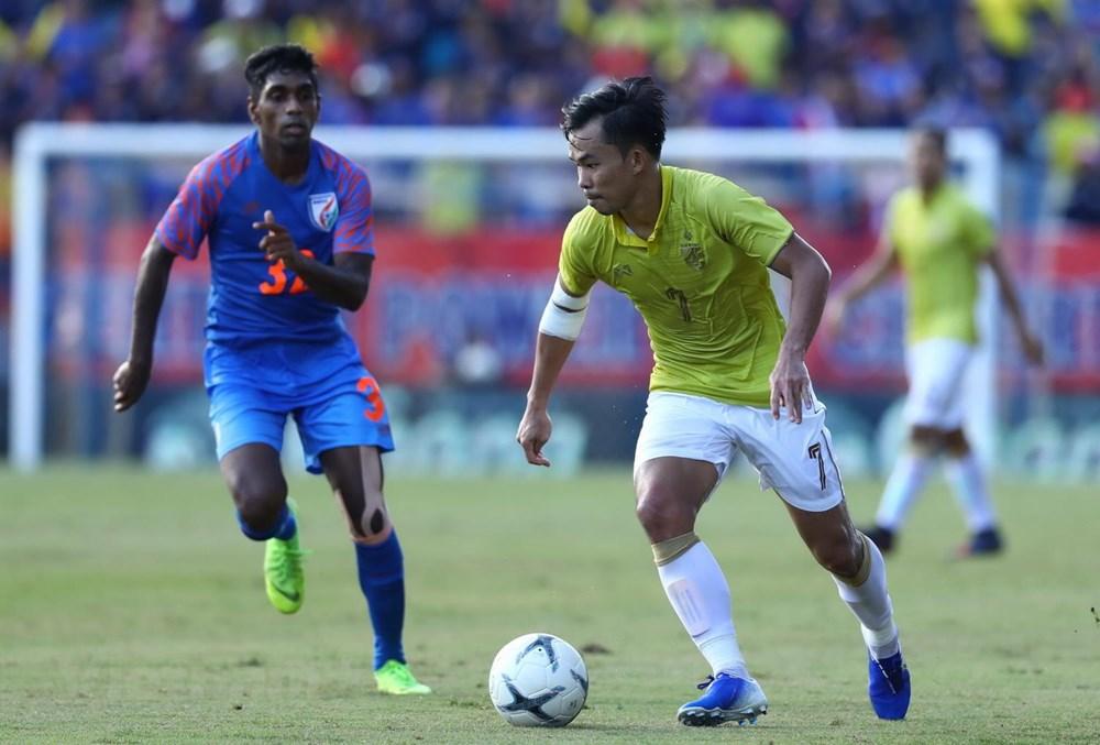 Thua Ấn Độ, Thái Lan xếp cuối tại King's Cup 2019