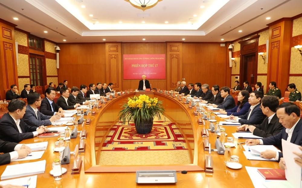 [ẢNH] Tổng Bí thư, Chủ tịch nước chủ trì phiên họp về phòng chống tham nhũng - 5