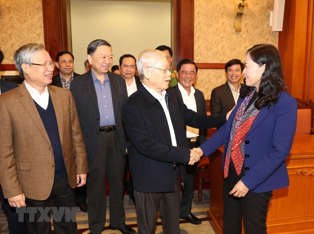 [ẢNH] Tổng Bí thư, Chủ tịch nước chủ trì phiên họp về phòng chống tham nhũng - 2