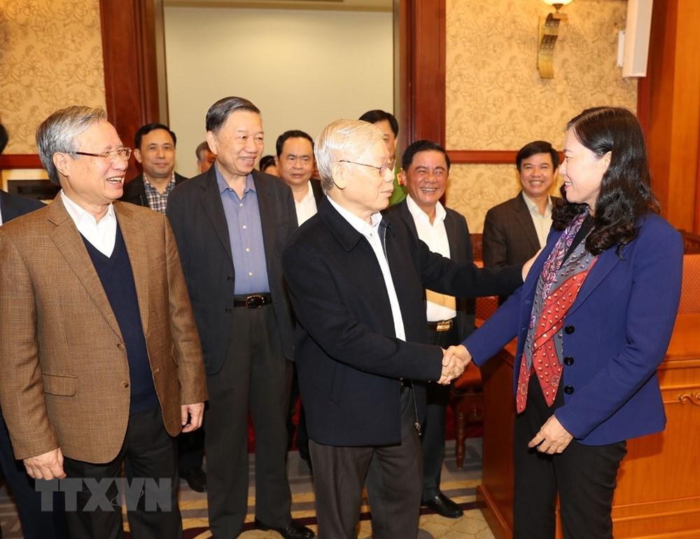 [ẢNH] Tổng Bí thư, Chủ tịch nước chủ trì phiên họp về phòng chống tham nhũng - 3