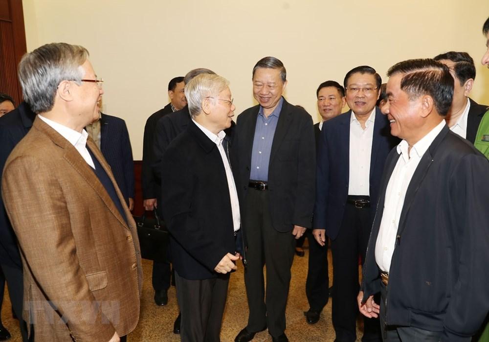 [ẢNH] Tổng Bí thư, Chủ tịch nước chủ trì phiên họp về phòng chống tham nhũng - 4