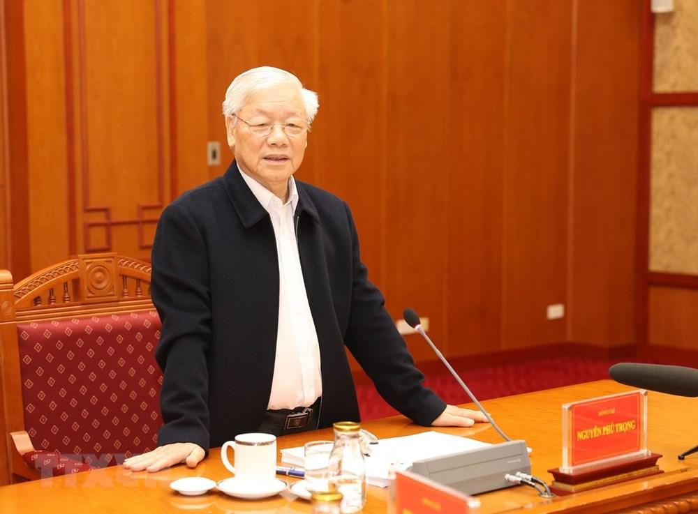[ẢNH] Tổng Bí thư, Chủ tịch nước chủ trì phiên họp về phòng chống tham nhũng - 7