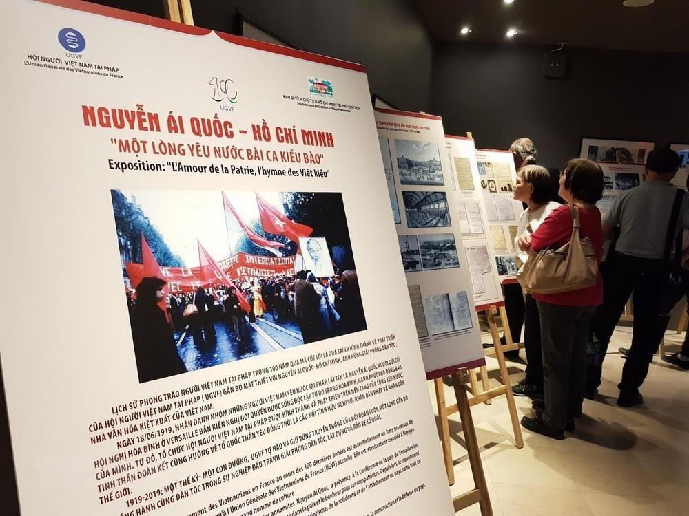 Kỷ niệm 100 năm phong trào Việt kiều và Hội người Việt Nam tại Pháp - 1