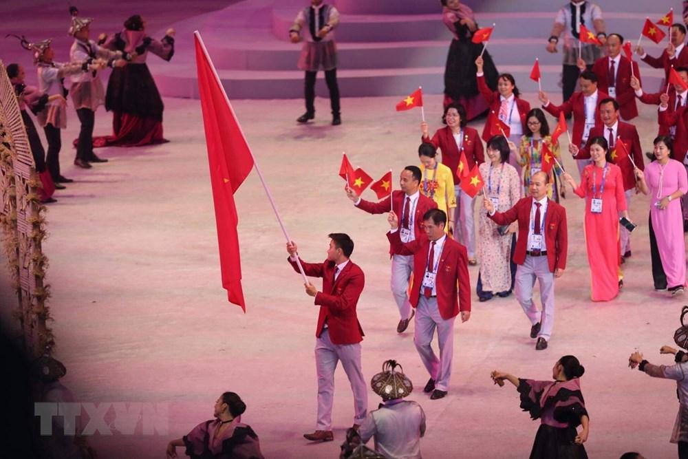 [ẢNH] Lễ khai mạc Đại hội thể thao Đông Nam Á lần thứ 30 - 6