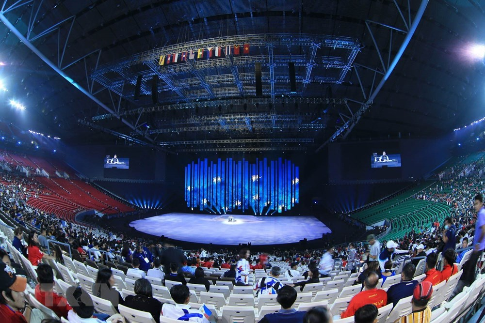 [ẢNH] Lễ khai mạc Đại hội thể thao Đông Nam Á lần thứ 30 - 3