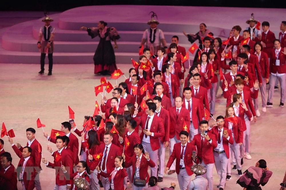 [ẢNH] Lễ khai mạc Đại hội thể thao Đông Nam Á lần thứ 30 - 9