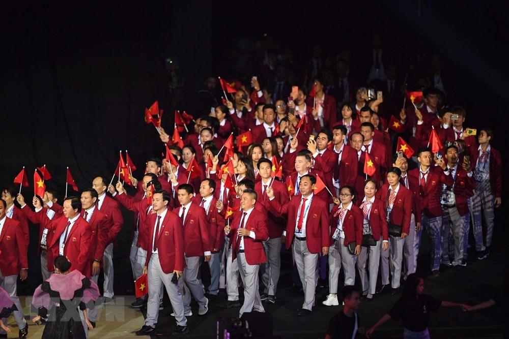 [ẢNH] Lễ khai mạc Đại hội thể thao Đông Nam Á lần thứ 30 - 8