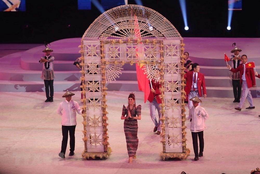 [ẢNH] Lễ khai mạc Đại hội thể thao Đông Nam Á lần thứ 30 - 5