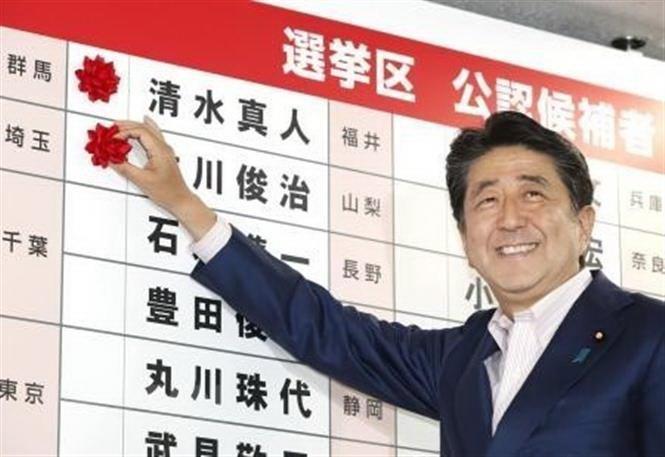 Nhật Bản: Đảng cầm quyền chiến thắng trong cuộc bầu cử Thượng viện