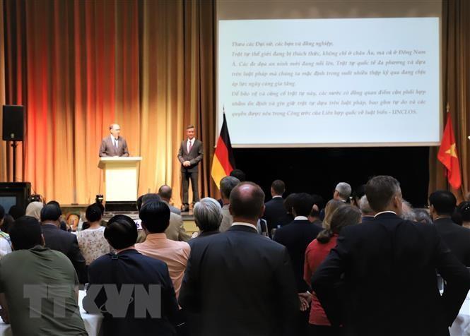 Đại sứ quán Việt Nam tại Đức tổ chức lễ kỷ niệm 74 năm Quốc khánh