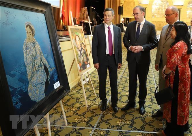 Đại sứ quán Việt Nam tại Đức tổ chức lễ kỷ niệm 74 năm Quốc khánh - 1
