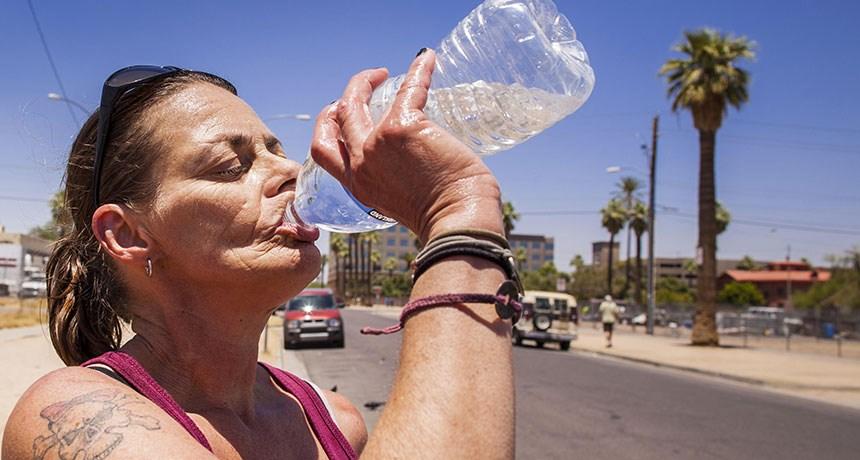 Nhiệt độ Trái Đất tăng làm tăng nguy cơ đột quỵ ở người lớn tuổi