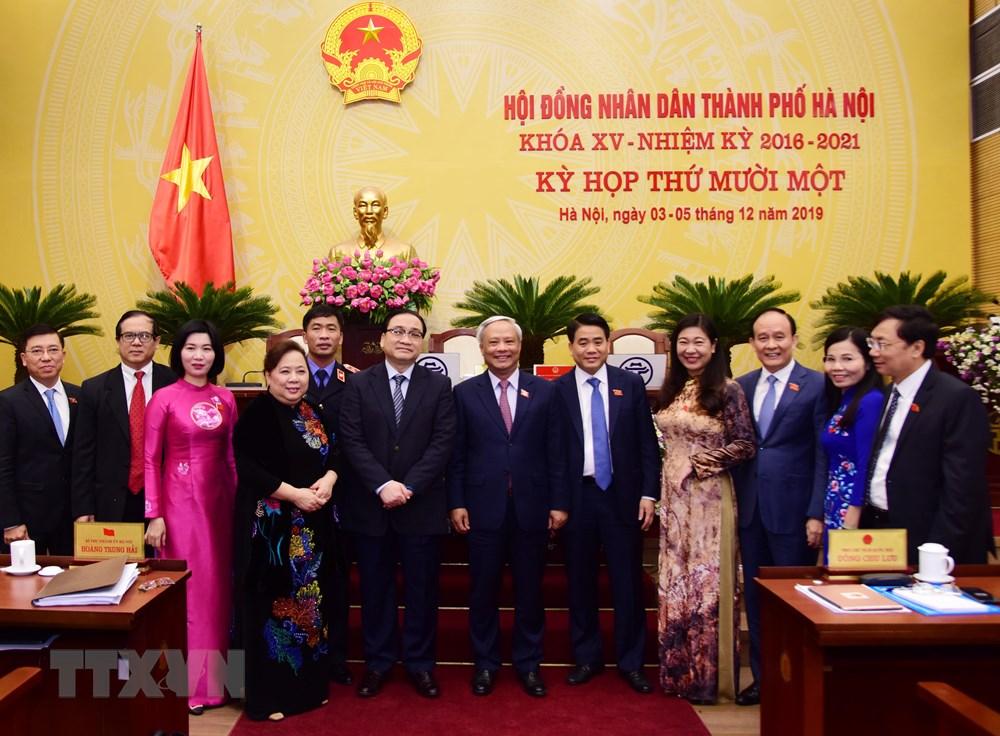 Khai mạc Kỳ họp thứ 11, Hội đồng nhân dân thành phố Hà Nội khóa XV - 1