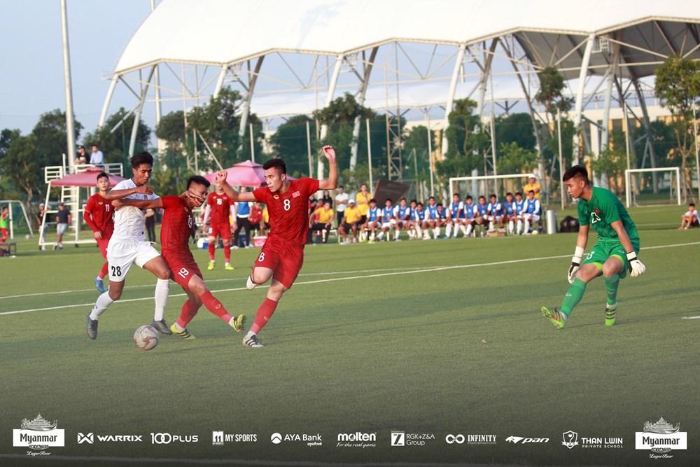 HLV Park Hang-seo không chỉ đạo, U22 Việt Nam hòa U22 Myanmar - 1