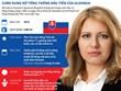 Những điều chưa biết về nữ Tổng thống đầu tiên của Slovakia