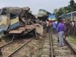Hình ảnh vụ tai nạn tàu hỏa thương tâm tại Bangladesh