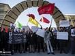 Iran triệu Đại sứ Anh để phản đối việc tham dự tuần hành trái phép