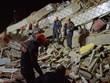 Khung cảnh tan hoang sau trận động đất mạnh tại Thổ Nhĩ Kỳ
