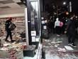Thành phố New York tan hoang sau các cuộc biểu tình