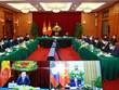 Việt-Lào chia sẻ kinh nghiệm về phòng chống dịch và phát triển KT-XH