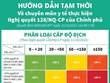 [Infographics] Phân loại cấp độ dịch theo Nghị quyết 128 của Chính phủ