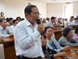Lãnh đạo Thành phố Hồ Chí Minh tiếp xúc cử tri sau kỳ họp Quốc hội