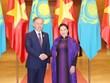 Chủ tịch Quốc hội đón, hội đàm với Chủ tịch Hạ viện Kazakhstan