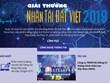 [Infographics] Chi tiết giải thưởng Nhân tài Đất Việt năm 2019