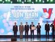 [Photo] Truyền hình Thông tấn đón nhận Huân chương Lao động hạng Nhì