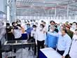 Chủ tịch nước Nguyễn Xuân Phúc thăm Bệnh viện dã chiến Bình Dương