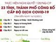 [Infographics] Đã có 23 tỉnh, thành phố công bố cấp độ dịch COVID-19