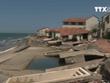 [Video] Biển Cửa Đại tan hoang do bị xâm thực, sạt lở nghiêm trọng