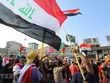 Biểu tình chống các lệnh trừng phạt của Mỹ tại thủ đô của Iraq