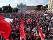 Hàng chục nghìn người tham gia biểu tình chống phátxít tại Italy