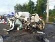 Thái Lan: Tai nạn giao thông thảm khốc làm 11 người chết