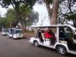 Hà Nội khảo sát mở rộng khu vực triển khai xe điện 4 bánh chở khách