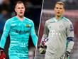 Ter Stegen-Neuer: 'Cuộc chiến' số 1 tuyển Đức tại Champions League