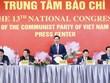 [Photo] Hình ảnh buổi Họp báo Đại hội lần thứ XIII của Đảng