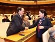 Chủ tịch Quốc hội chúc Tết nguyên lãnh đạo Quốc hội, cán bộ nghỉ hưu