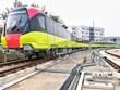 Chạy thử nghiệm đoàn tàu đầu tiên tuyến metro Nhổn-ga Hà Nội