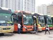 Xe khách liên tỉnh hoạt động dựa vào cấp độ dịch ở từng địa bàn