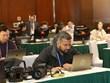 [Photo] Hàng trăm phóng viên tác nghiệp ở phiên khai mạc ĐH Đảng XIII