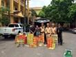 Bắt đối tượng sử dụng xe tải vận chuyển gần 300kg pháo